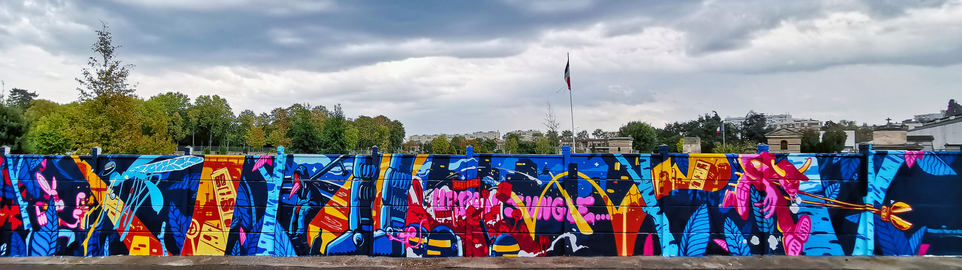 fresque bagneux sly